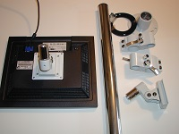 Monitor Mount Vertcal Assembly